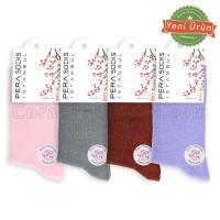 Bayan Kokulu Soket Çorap (12 Çift) (Parfümlü)