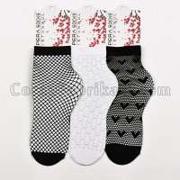 Bayan File Fantezi Çorap (12 Çift)