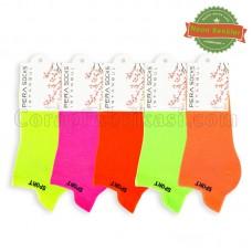 Bayan Fosforlu Patik Çorap (12 Çift)