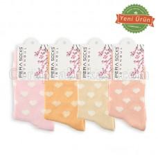 Bayan Lux Kalpli Çorap (12 Çift) (Parfümlü)