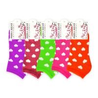 Bayan Kalpli Patik Çorap (12 Çift) (Parfümlü)
