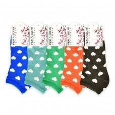 Bayan Kalpli Patik Çorap (12 Çift)