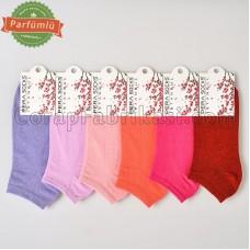 100 Düzine Bayan Kokulu Patik Çorap (1200 Çift)