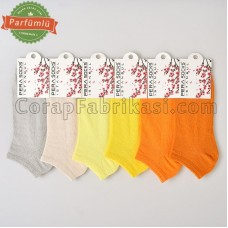 Bayan Kokulu Patik Çorap (12 Çift)
