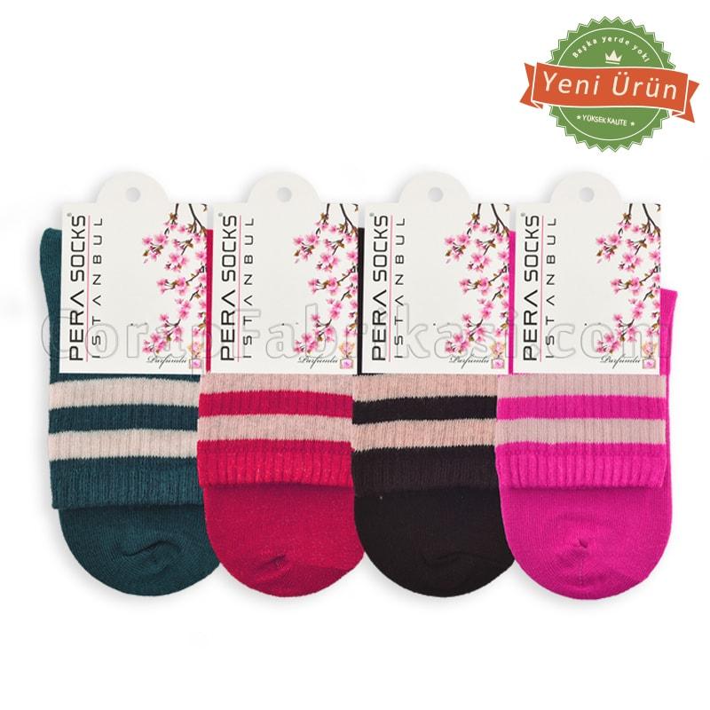 Bayan Kolej Çorap (12 Çift)