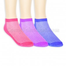 Bayan Fileli Patik Çorap (12 Çift)