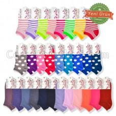 Kampanyalı Bayan Patik Çorap Paketi (360 Çift) (Parfümlü)