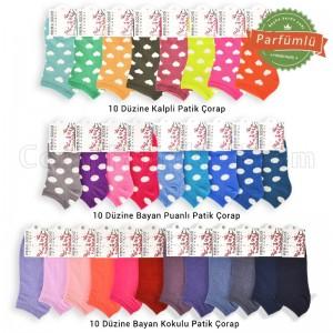 Kampanyalı Bayan Patik Çorap Paketi 2 (360 Çift)