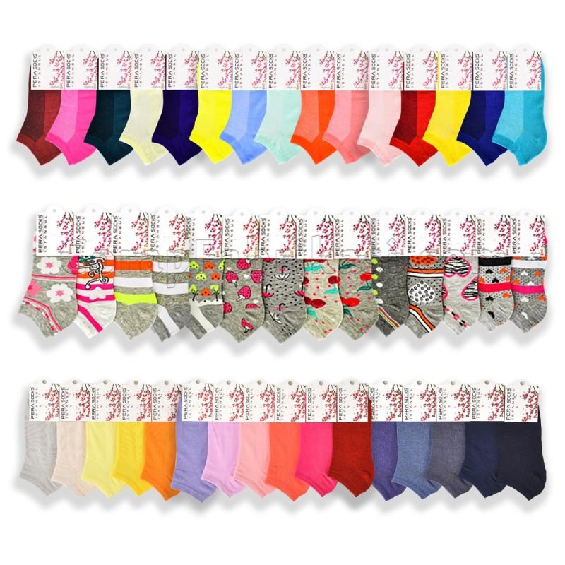 Bayan Patik Çorap Paketi (360 Çift)