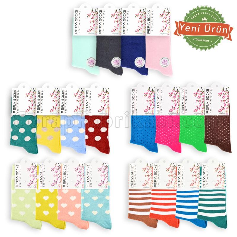 Kampanyalı Bayan Soket Çorap Paketi (300 Çift) (Parfümlü)