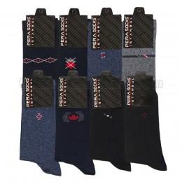 Erkek Dört Mevsim Çorap (12 Çift)