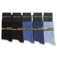 Erkek Dikişsiz Penye Çorap (12 Çift)
