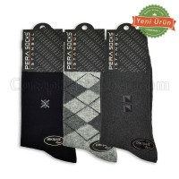 Erkek Dikişsiz Kışlık Çorap (12 Çift)