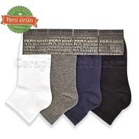 Erkek Penye Patik Çorap (12 Çift) (Parfümlü)