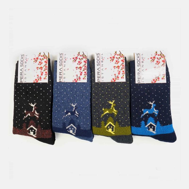 Bayan Kışlık Havlu Çorap (12 Çift)