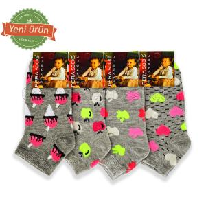 Çocuk Lux Patik Çorap (12 Çift)