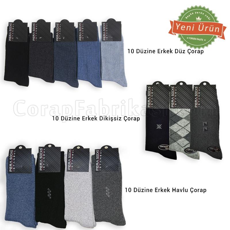 Erkek Kışlık Çorap Paketi (360 Çift)