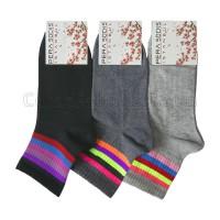 Bayan Kolej Çorap (12 Çift) Parfümlü