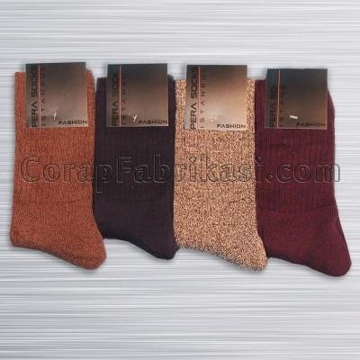 Erkek Ekonomik Kışlık Çorap (12 Çift)