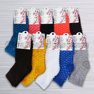Bayan Kışlık Renkli Havlu Çorap (12 Çift)