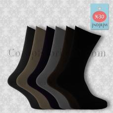 Erkek Yazlık Dikişsiz Penye Çorap (12 Çift)