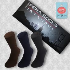 Erkek Kutulu Dikişsiz Penye Çorap (6 Çift)